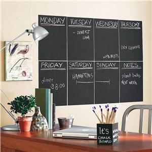 Peel and Stick Chalkboard Panels modern-bulletin-board