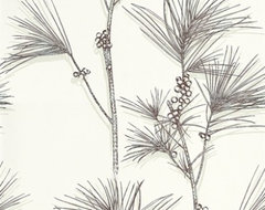 Pine Branch Wallpaper by Cole & Son eclectic-wallpaper