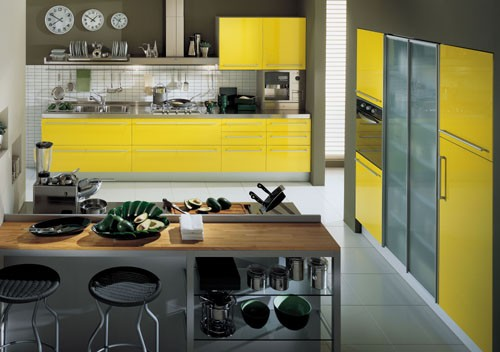 La Dimora Design contemporary kitchen