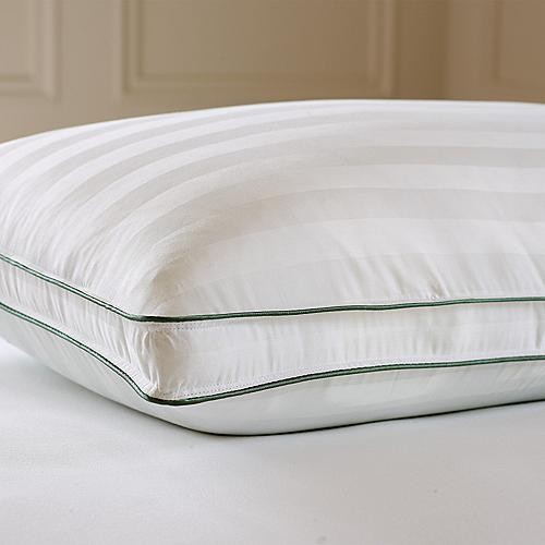 Dual Comfort Down Feather Pillow - Standard - Frontgate traditional-bed-pillows-and-pillowcases