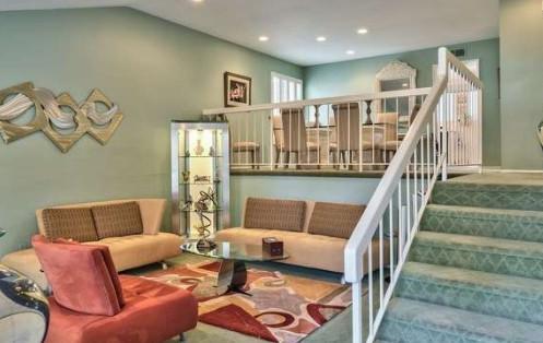 Sea foam green house for Seafoam green home decor