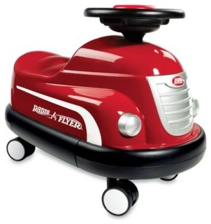 Radio Flyer Classic Bumper Car - Contemporary - Kids Toys - by Bed ...