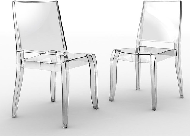 Class - X Chair (set of 4) by Plastix / Papatya modern-dining-chairs