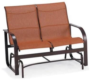 Winston Key West Sling Loveseat Glider modern-rocking-chairs