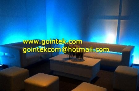 Glowing Color Change LED Sofa with rechargeable battery modern-sofas