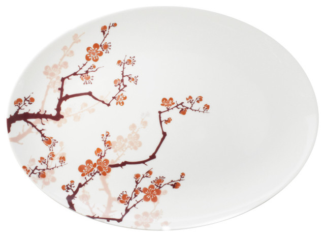 Ink Dish Paul Timman Cherry Ink Serving Platter contemporary-serving-dishes-and-platters