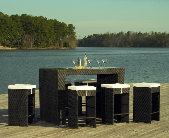 Wicker Bar Set Products on Houzz