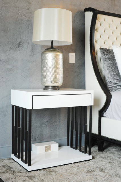 modern nightstands and bedside tables. Black Bedroom Furniture Sets. Home Design Ideas