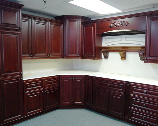 O'Neil Cabinets Cherry Door Style (Showroom) - O'Neil Cherry Kitchen.
