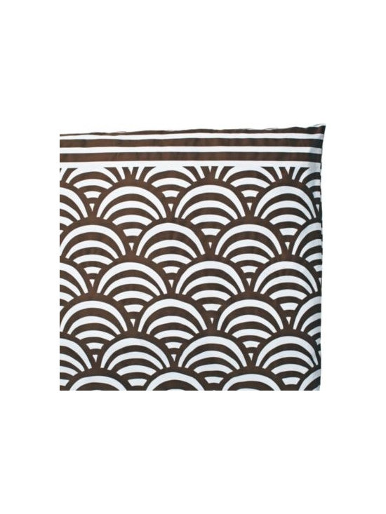 Chocolate Lamu Duvet