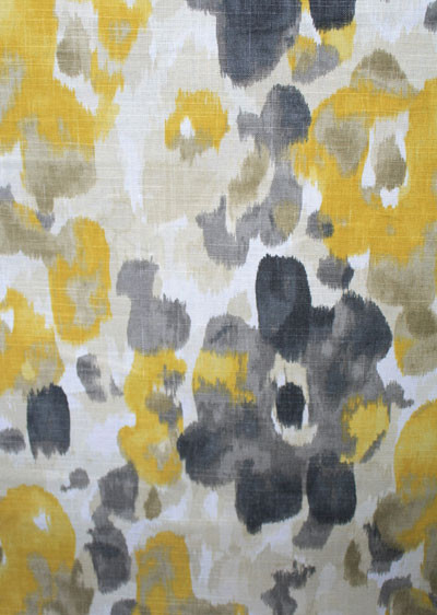 Landsmeer Fabric, Citrine contemporary fabric