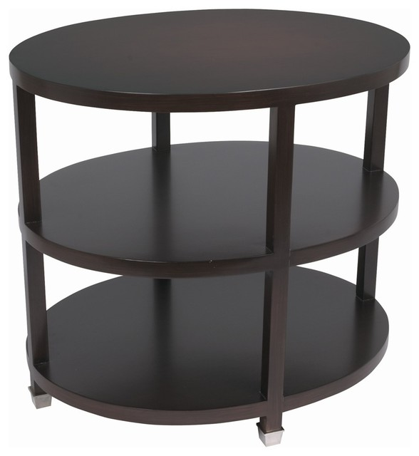 Espresso Side Table contemporary-side-tables-and-end-tables