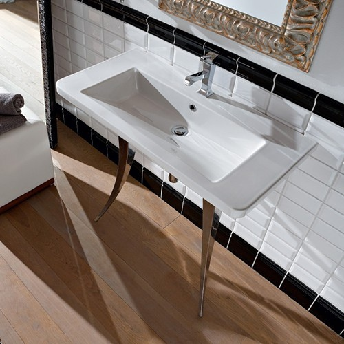 Butterfly Sink : Nameeks Butterfly Sink 4005 - Modern - Bathroom Sinks - by YBath