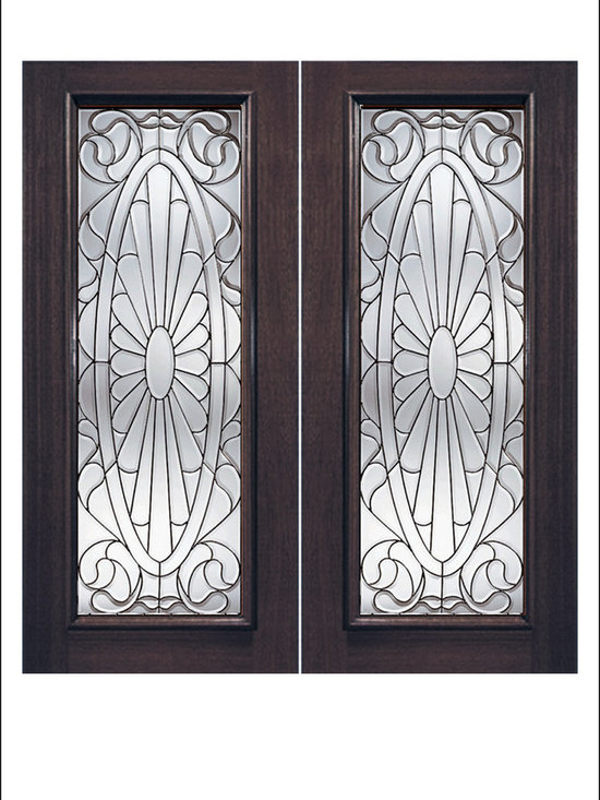Exterior and Interior Beveled Glass Doors Model # 930 -