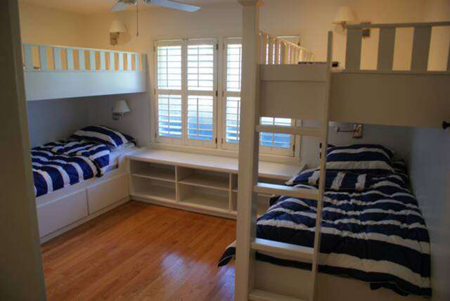 Custom Built In Bunk Beds Contemporary Bunk Beds