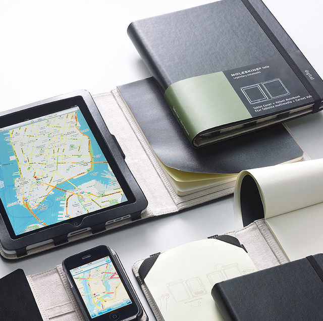 Moleskine Tablet Cover & Volant Notebook (iPad) home-office-products