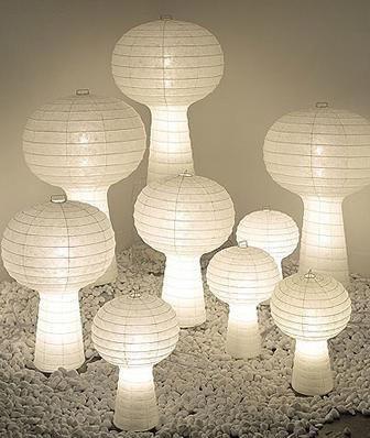 Porcini Table Lamp By Akari Lamps modern-table-lamps