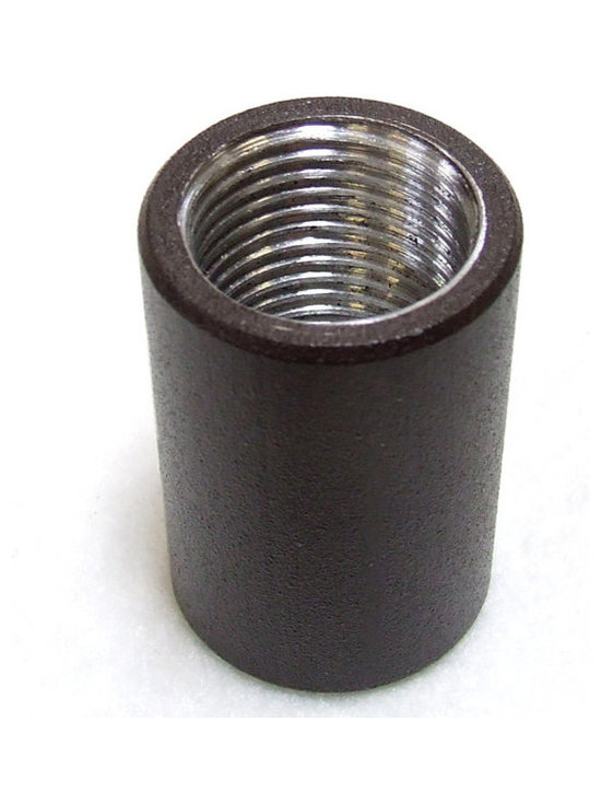 Kichler - 15649AZT Stem Coupler (0.5 in. thread, Textured Architectural Bronze) - Call for best prices. Here's our low price guarantee.