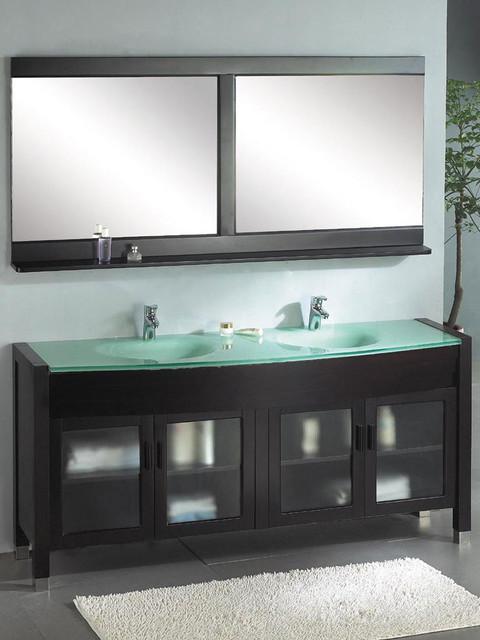 Ariel A-103 - Wynn 72 Dual Bathroom Vanity modern-bath-products