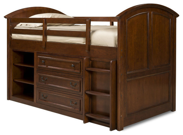 Legacy Classic Kids American Spirit Twin Mid-Loft Bed traditional-furniture