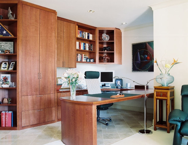 Work or Pleasure? eclectic-home-office