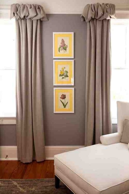 Heather ODonovan Interior Design eclectic curtains