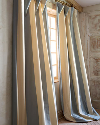 Each Hampton Curtain, 96L traditional-curtains