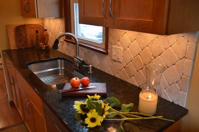 Galley kitchen traditional kitchen cleveland by for Traditional galley kitchens