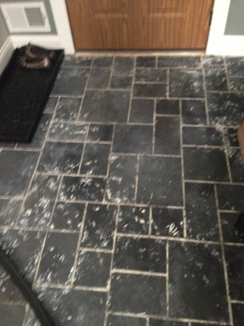 Slate Floor Tiles Can You Paint