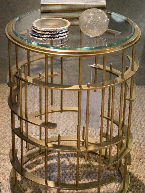 Cabana Home vignette: Baker Occasional Table - Side Table and Accessories available at Cabana Home