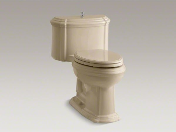 KOHLER Portrait(R) Comfort Height(R) one-piece elongated 1.6 gpf toilet with Cla contemporary-toilets