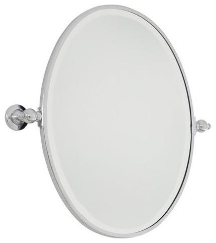 Minka Lavery 1431-77 Chrome Pivoting Bathroom Mirror Traditional / contemporary-bathroom-mirrors