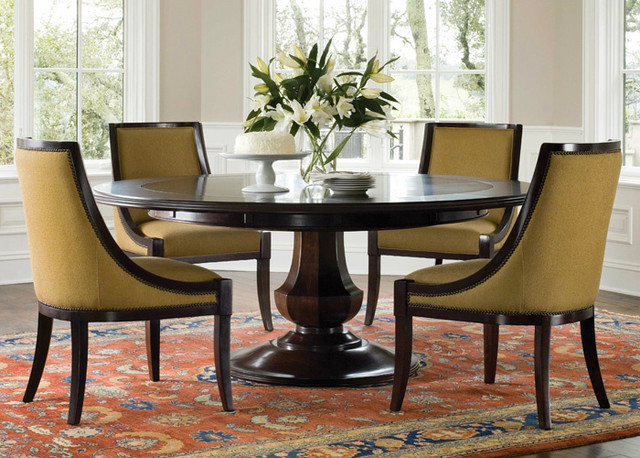 Sienna Dining Table Traditional Dining Tables By