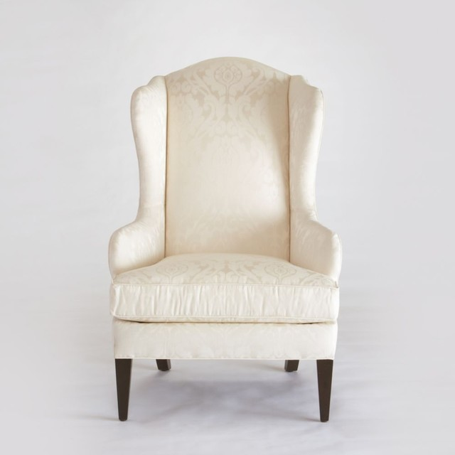 selby wing chair - traditional - armchairs - by Ethan Allen