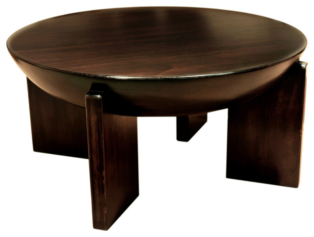 Giza Drum Coffee Table Traditional Coffee Tables By Masins Furniture