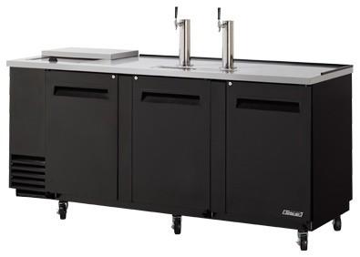 Triple wide commercial grade club top kegerator modern - Commercial grade kitchen appliances ...