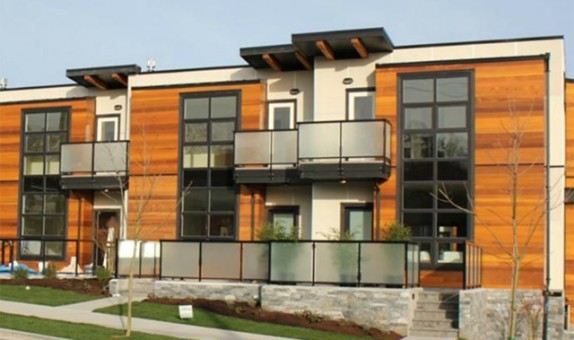 Gardiners Green Townhomes traditional-windows