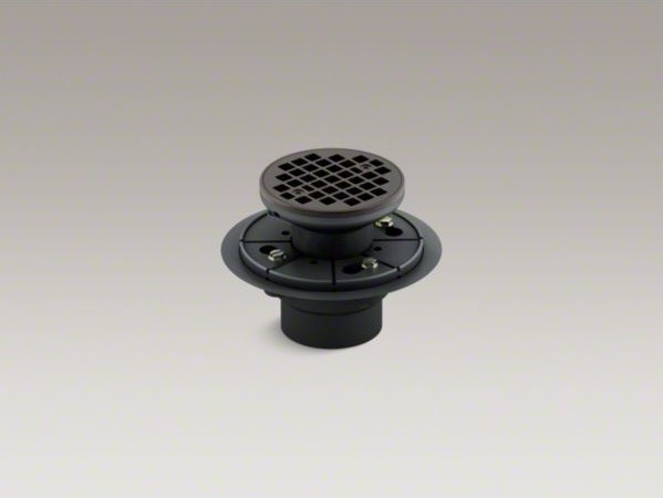 Kohler Round Design Tile In Shower Drain Contemporary Bathroom Sink And Faucet Parts By Kohler