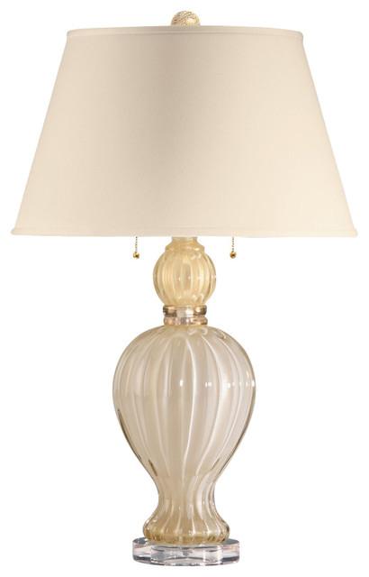 Decorative Crafts Venetian Glass Table Lamp 7030