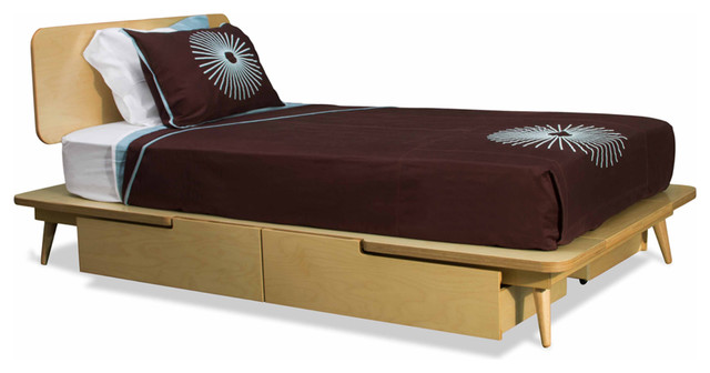 TrueModern 11 Ply Twin Bed modern-beds