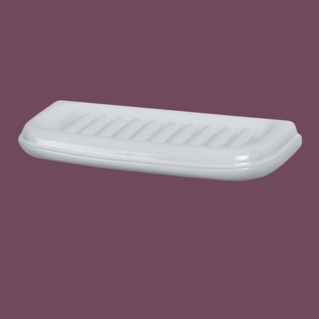 Shelves White Ceramic Bath Shelf 12 1 8 39 39 W X 5 Deep