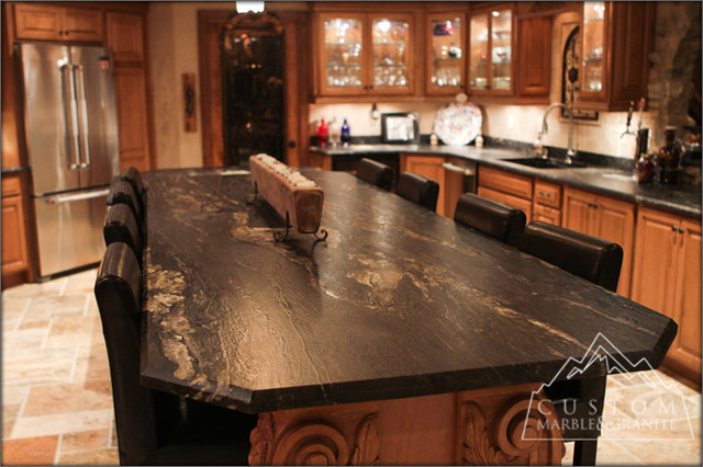 Granite Countertop Styles : Kitchen countertop styles afreakatheart