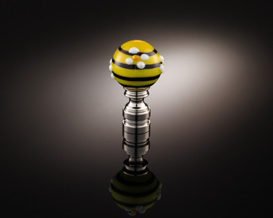 Lamp Finial Collection TLF011 - Handmade glass lamp finial