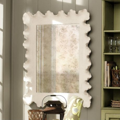 atoll mirror contemporary wall mirrors by ballard amiel arch aged brown antiqued mirror ballard designs
