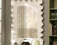 Atoll Mirror contemporary-wall-mirrors