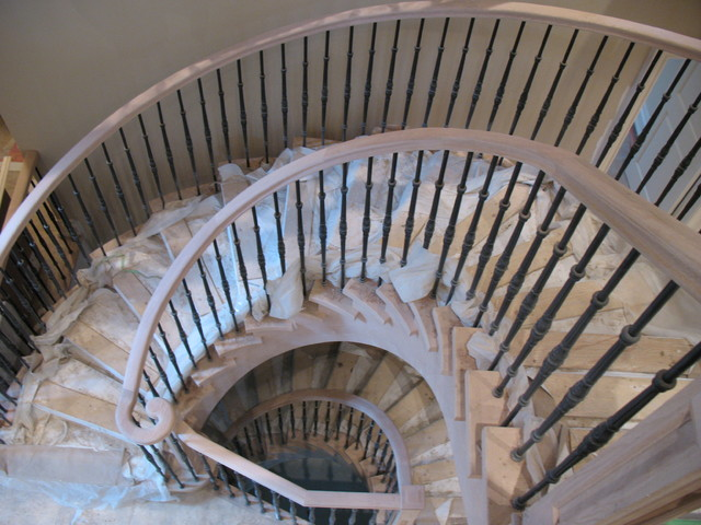 stairs and railings in toronto traditional