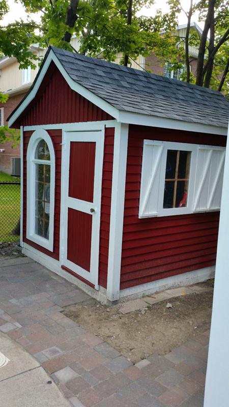 Outdoor Cabana Painter Red