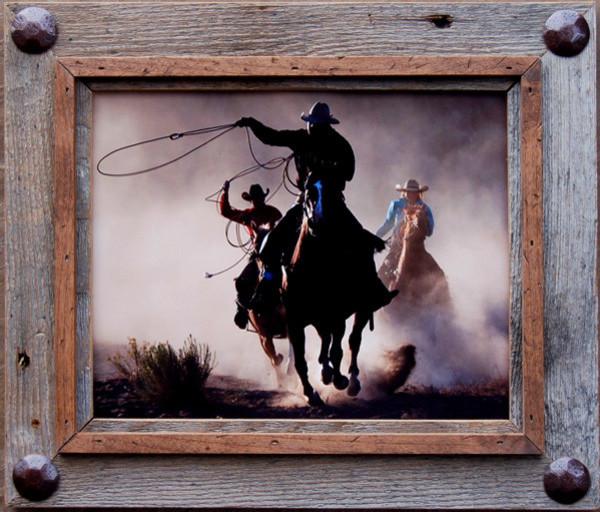 Rustic Frames Hobble Creek Series 5x7 Frame With Tacks rustic-frames