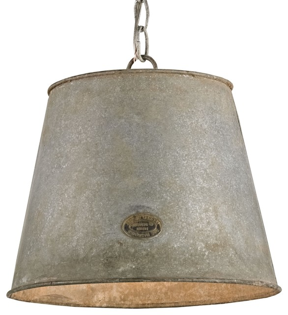 Bucket Pendant Farmhouse Pendant Lighting by Masins Furniture