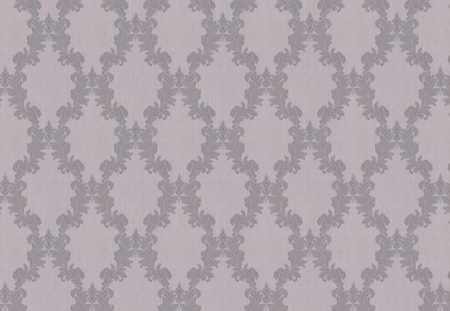 Regency Wallpaper, Gray traditional-wallpaper
